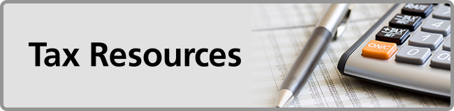 Tax Resources Header