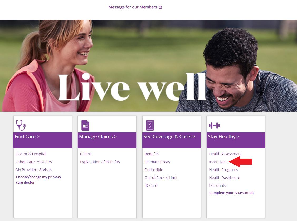 Check Your Wellness Credit Balance: Aetna   Benefits   Human