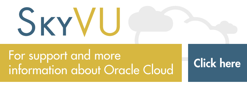 Oracle Cloud - SkyVU
